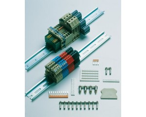 DIN Rail Mounted Terminal Blocks